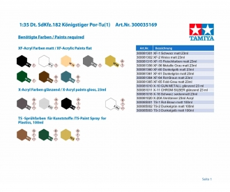 1:35 Ger. SdKfz.182 Königstiger Por-T(1)