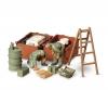 1:35 Diorama-Set Ger.Engine Maint.Cr.(2)