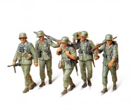 1:35 WWII Fig.-Set MG-Trupp i.Manöver(5)