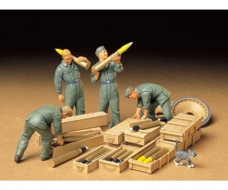 1:35 Fig.-Set Tank Ammo Load. Crew (4)
