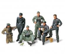 1:35 Fig-Set Ger. Tank Crew Rest(6)