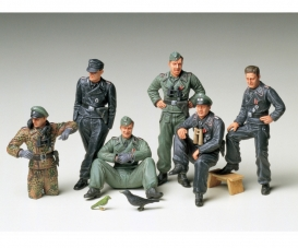 1:35 Fig-Set Ger. Tank Crew Rest(6)