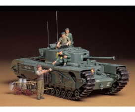 1:35 WWII Brit.Tank Churchill Mk.VII (6)