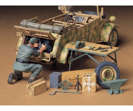 1:35 Diorama-Set Engine Maint.Kübelw.(1)