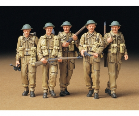 1:35 WWII Fig-Set Brit.Infant.Patrol.(5)