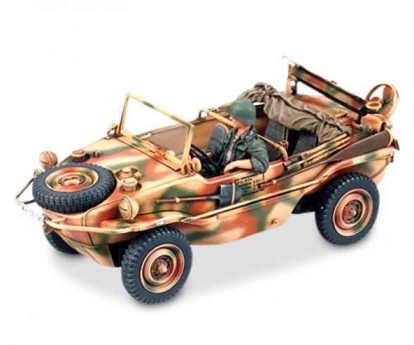 1:35 WWII PKW.K2s Schwimmwagen (1) T.166