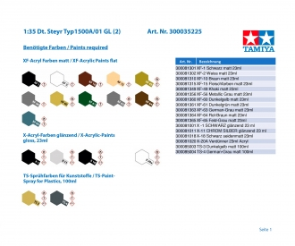 1:35 Dt. Steyr Typ1500A/01 GL (2)