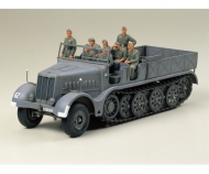 1:35 WWII SdKfz.9 Famo 18to Halftrack(8)