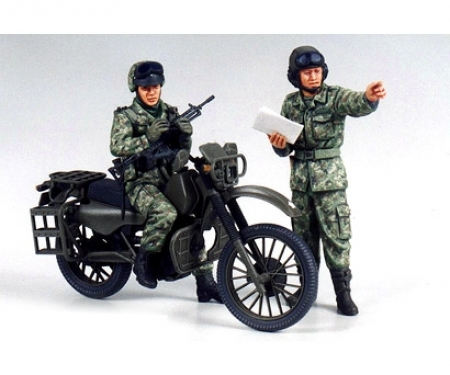 1:35 JGSDF Motocross-Motorcycle (2)