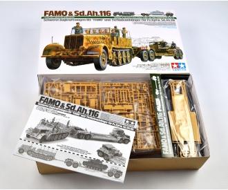 1:35 Ger. SdKfz.9 Famo w/ Lowloader(12)