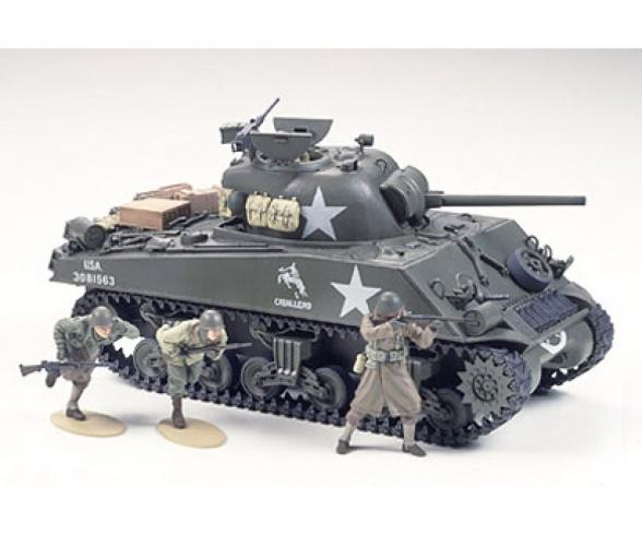 1:35 US Sherman M4A3 75mm Späte (9)