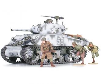 1:35 US Sherman M4A3 105mm Haub. (9)