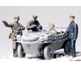 1:35 WWII Fig.-Set Schwimmwagen (4)