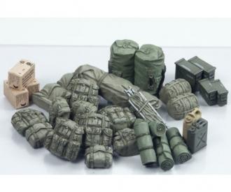 1:35 Diorama-Set US Military Equipm.Mod.
