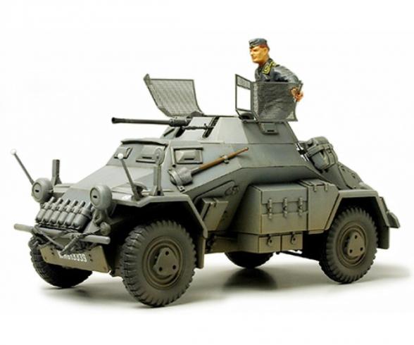 1:35 Ger. SdKfz.222 Light Arm. Vehic.(1)