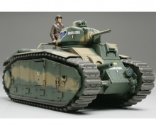 1:35 WWII French MBT B1 bis (1)