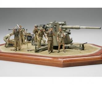 1:35 Ger. 88mm Flak36 North Africa (8)