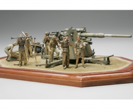 1:35 Ger. 88mm Flak36 North Africa (8)