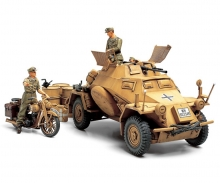 1:35 Ger. SdKfz.222 Arm.Veh. Nor.Afr.(3)
