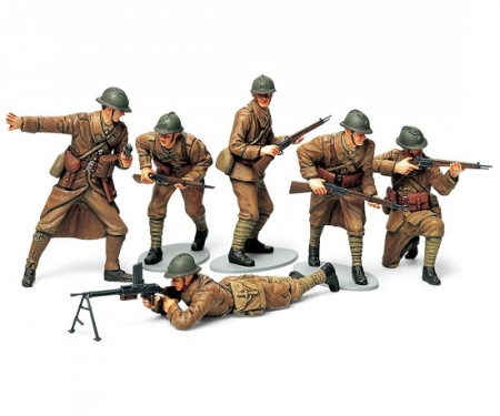 1:35 WWII Fig-Set Franz. Infanterie (6)