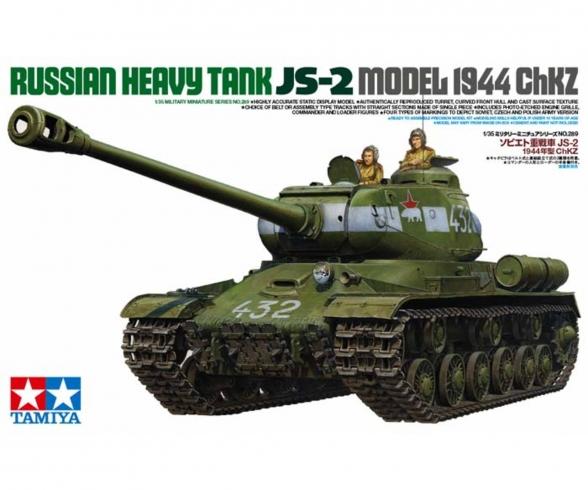 1:35 WWII Rus. Sw.KPz JS-2 ChKz (2)