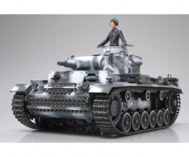 1:35 WWII Dt. Pzkmpfw. III Ausf. N (1)