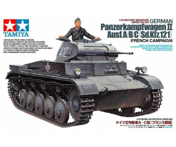 1:35 WWII Ger.PzKpfw.II Ausf. A/B/C (1)
