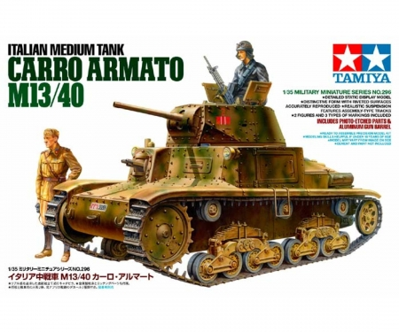 1:35 WWII It.M.Pz.Carro Armato M13/40(2)