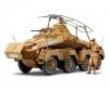 1:35 Ger. SdKfz.232 Scout Car Afr. (2)