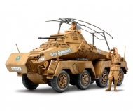 1:35 WWII Ger.SdKfz.232 Scout C.Afr.(2)