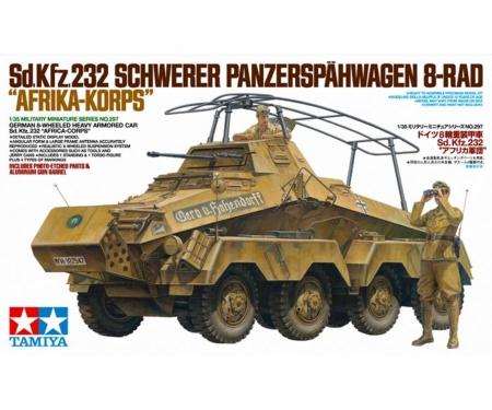 1:35 WWII Dt. SdKfz.232 SpPz Afrika(2)