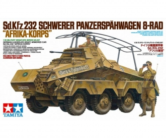 1:35 Dt. SdKfz.232 SpPz Afrika (2)