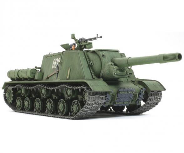 1:35 Sov. Heavy MBT JSU-152 (2)