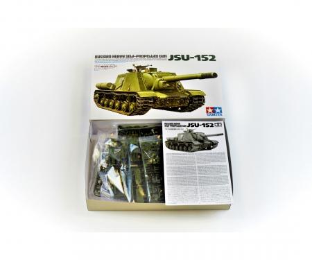 1:35 WWII Sov. Heavy MBT JSU-152 (2)