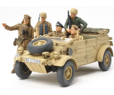 1:35 WWII Ger.Kuebelwagen T82 Ramcke (5)