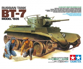 1:35 Rus. BT-7 Model 1935