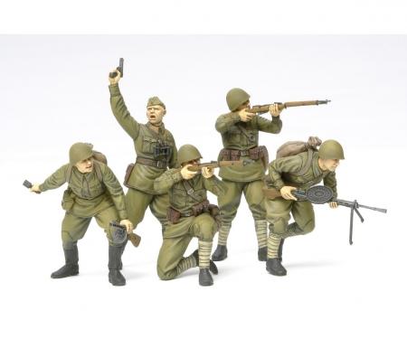 1:35 WWII Fig.-Set Rus. Sturmtruppen (5)