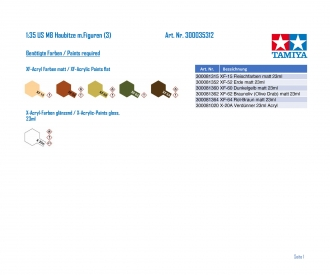 1:35 WWII U.S.M8 Howitzer MoCa w/Fig.(3)