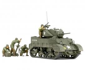1:35 US M5A1 Leicht Pz.m.Mörser (4)
