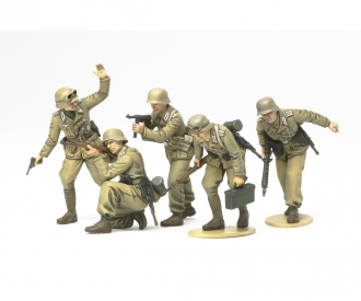 1:35 WWII Fig.-Set Ger.Africa Corps Inf.