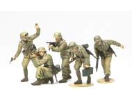1:35 WWII Fig.-Set Dt.Afrika Korps Infa.