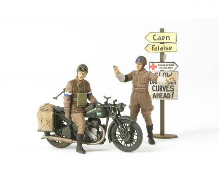 1:35 WWII Brit.BSA M20 Mot.c./Mi.Police