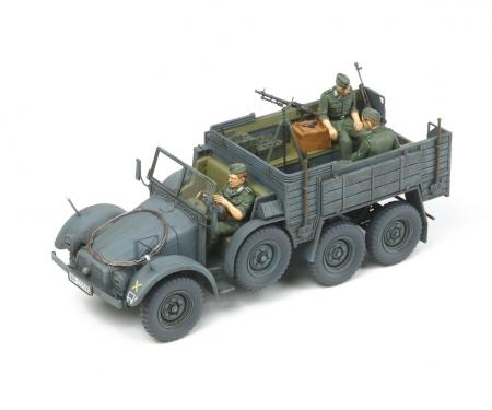 1:35 WWII Ger.Car.Truck Krupp Protze(3)