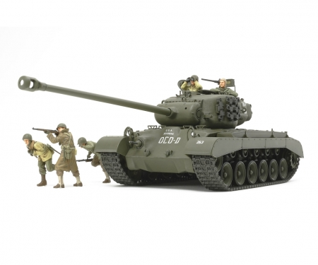 1:35 WWII US Tank T26E4 Super Pershing