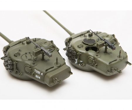 1:35 WWII US Panzer T26E4 Super Pershing