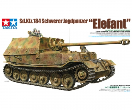 1:35 German Heavy Tank Destroyer Elefant
