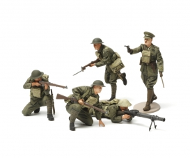 1:35 WWI British Infantry Fig.-Set (5)