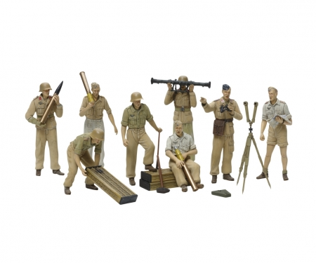 1:35 Fig.-Set DAK Luftwaffe Artillerie