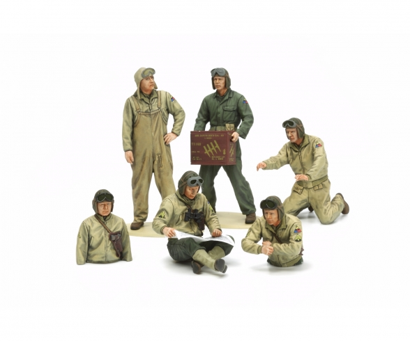 1:35 US Tank Crew Euro Theater (6)