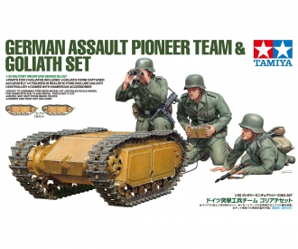 1/35 Ger.Pioneer & Goliath Set